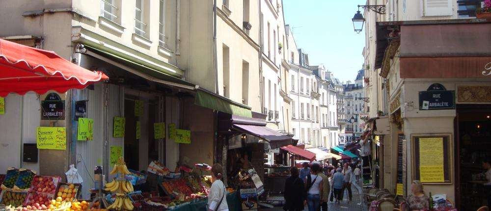 The picturesque and lively Mouffetard Market